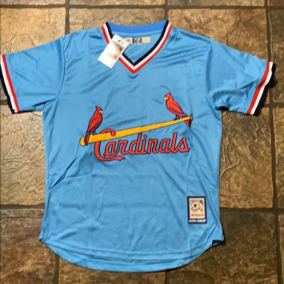 "online store 17dde 8dacb Ozzie Smith ""Classic"" St Louis Cardinals Jersey NWT"